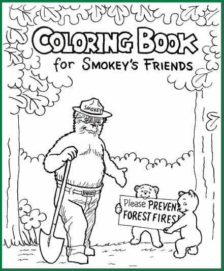 Goes With Forest Habitat When We Study Little Red Riding Hood Bear Coloring Pages Smokey The Bears Free Coloring Pages