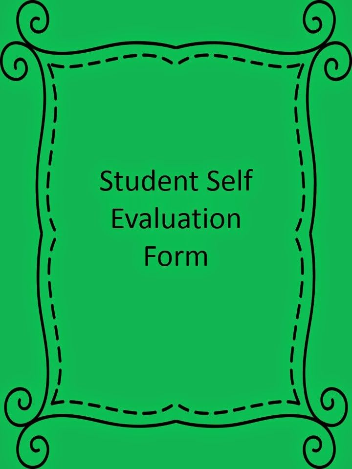 Hunter\u0027s Tales from Teaching  Student Self Evaluations-Getting