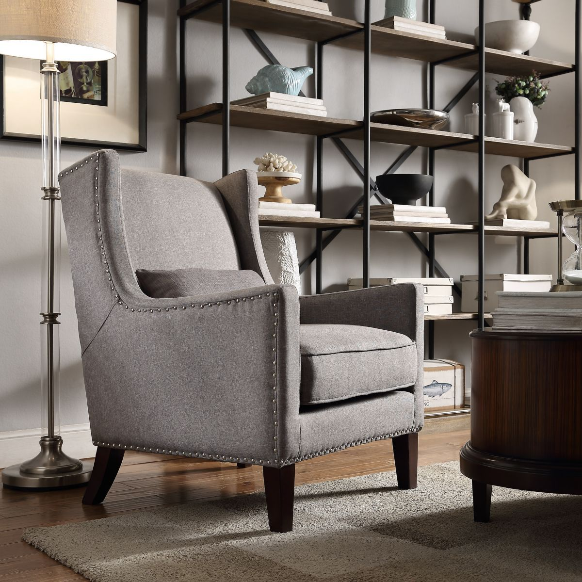 Linen Accent Chairs, Furniture
