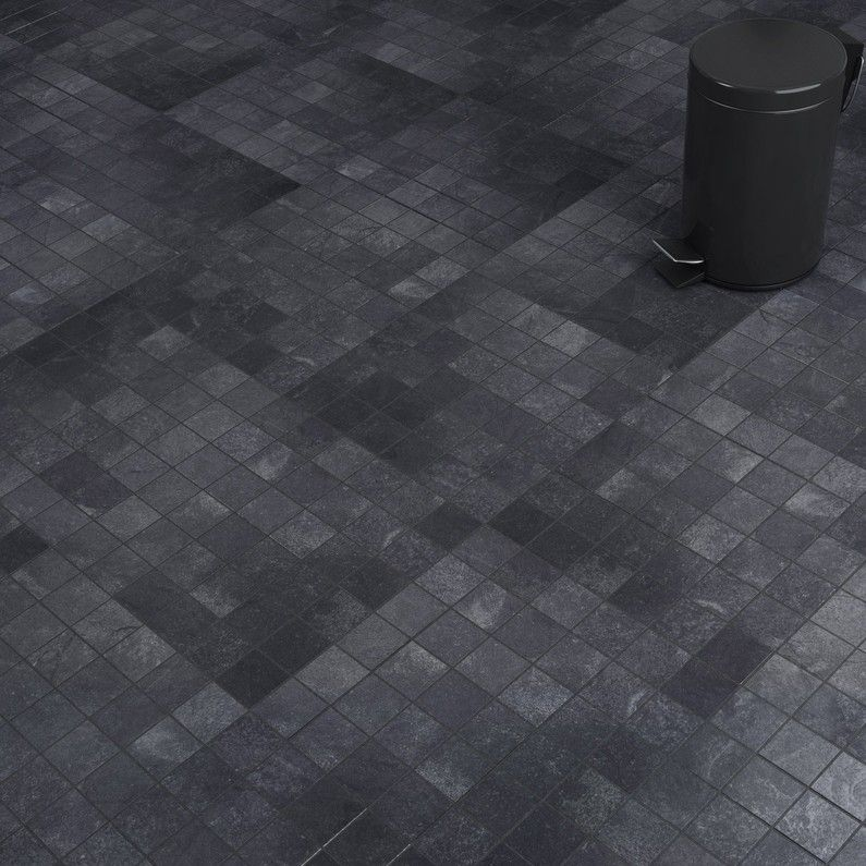 Mosaique Sol Et Mur Sicile Noir Buanderie En 2019 Sol Et Mur Sicile Et Mosaique