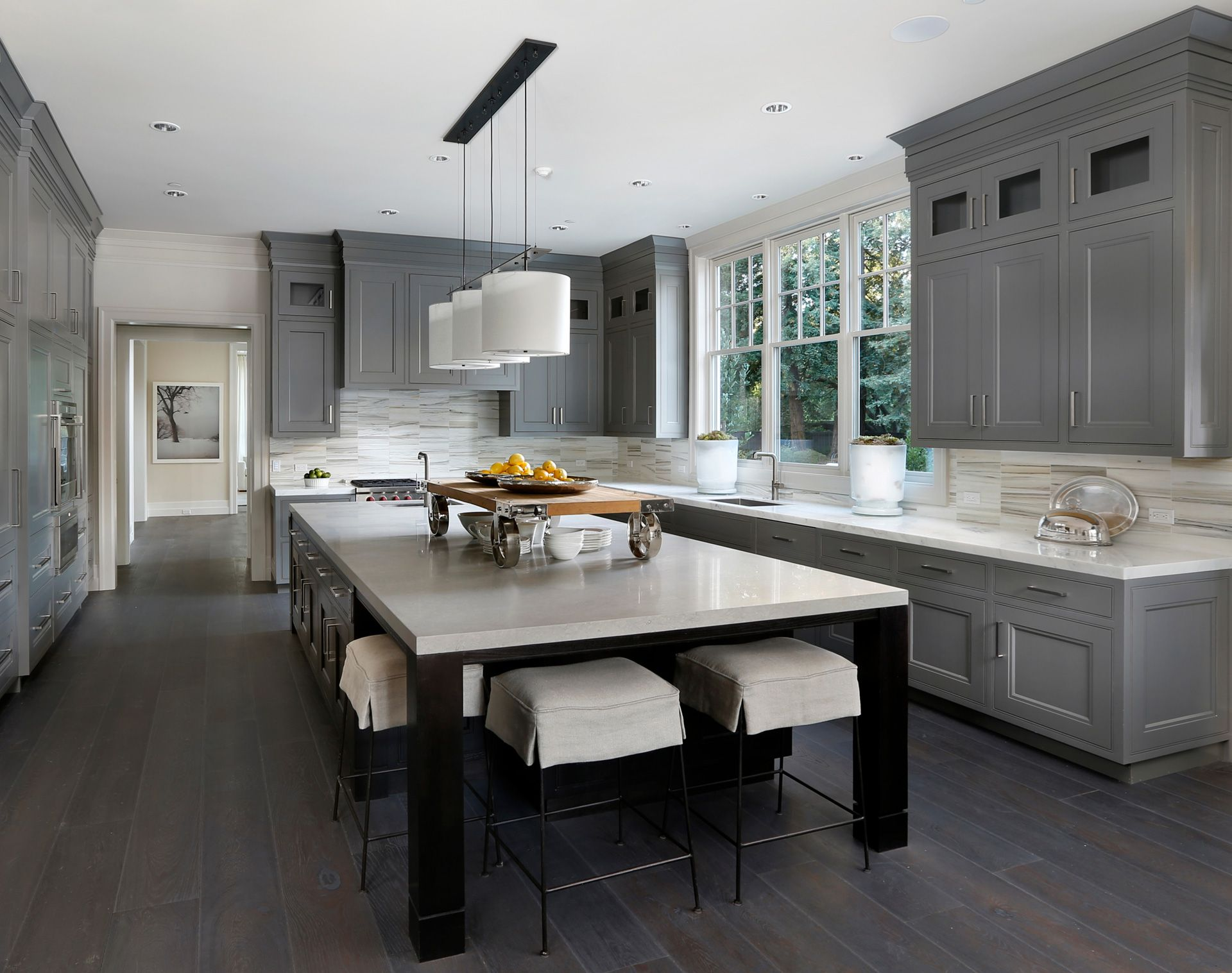 Grey Kitchen Cabinets For Sale Charleston Sc Ppg Designed Like Color Cabinetry Glass Covered