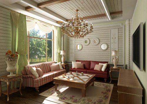 Дизайн дома с белой вагонкой