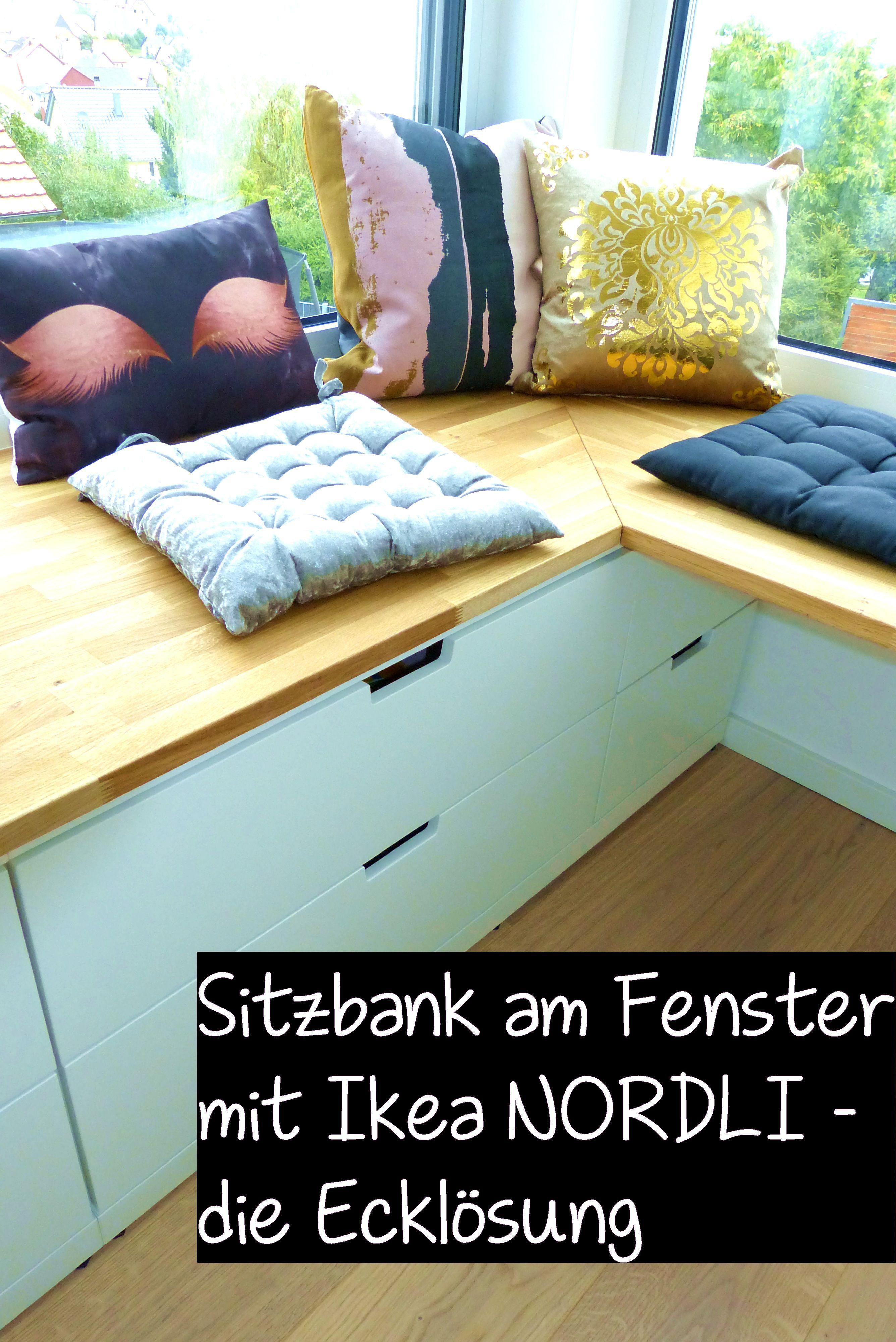 DIY Ikea Hack   Sitzbank am Fenster mit Ikea NORDLI – die ...