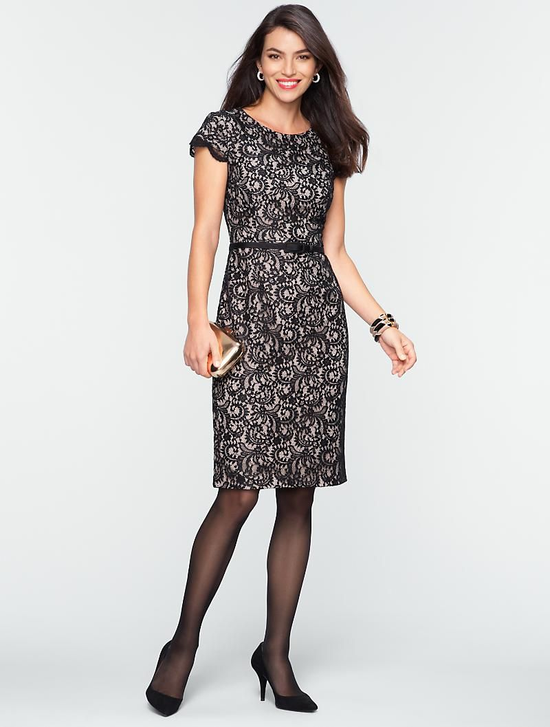 Talbots - All-Over Lace Dress | Events and Occasions | Misses | My ...