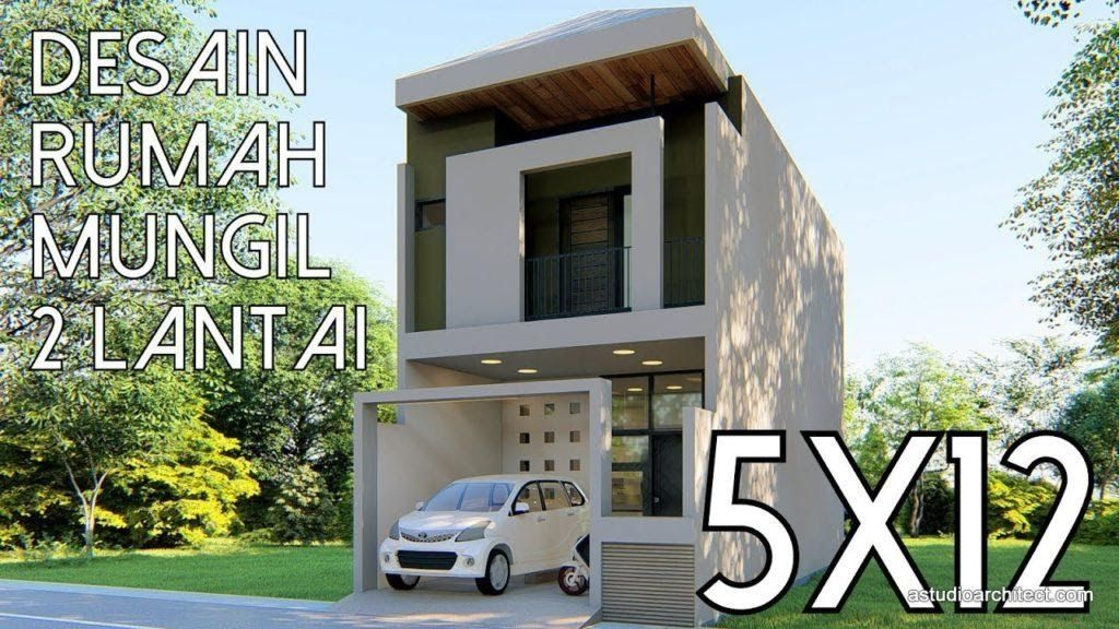 Desain Rumah Minimalis 2 Lantai Ukuran 4x10 Cek Bahan Bangunan