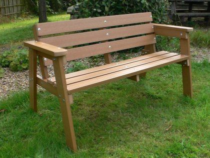 Garden Benches Recycled Plastic Kedel Co Uk Outdoor Garden Bench Outdoor Garden Furniture Garden In The Woods