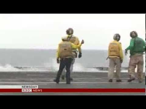 BBC News - On board the aircraft carrier USS George Washington posted 10/25/2013