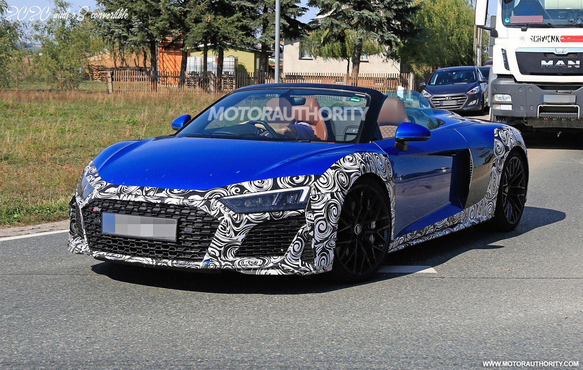 2020 Audi R8 Convertible In 2020 Audi R8 V10 Audi R8 Audi R8 Convertible