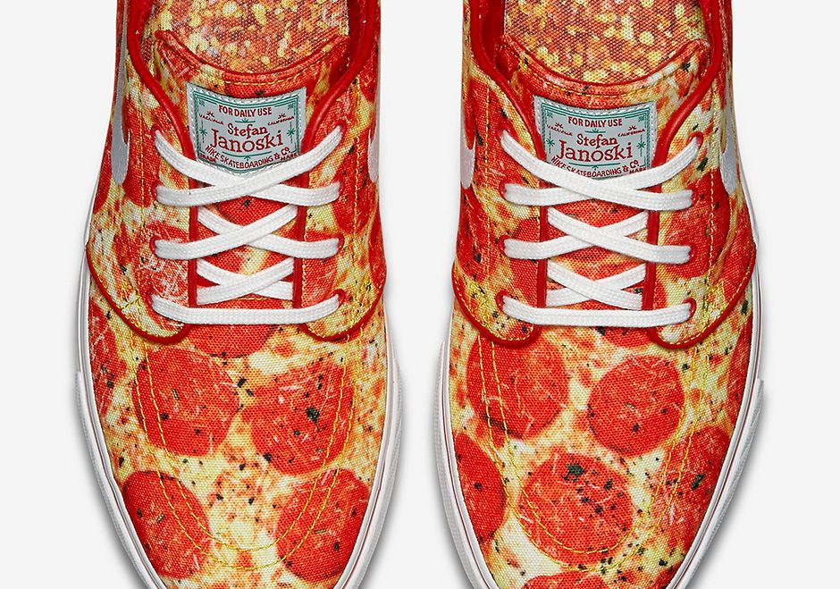 "#sneakers #news Skate Mental x Nike SB Janoski ""Pizza"" Releases This Friday"