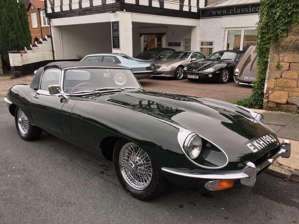 Ebay 1970 Jaguar E Type 4 2 Series 2 Roadster Uk Car Matching Numbers Jaguar E Type Jaguar E Jaguar