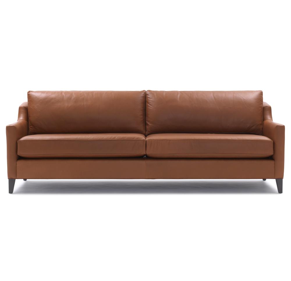Gigi Leather Sofa Contemporary Sofas In 2020 Leather Sofa Sofa Leather