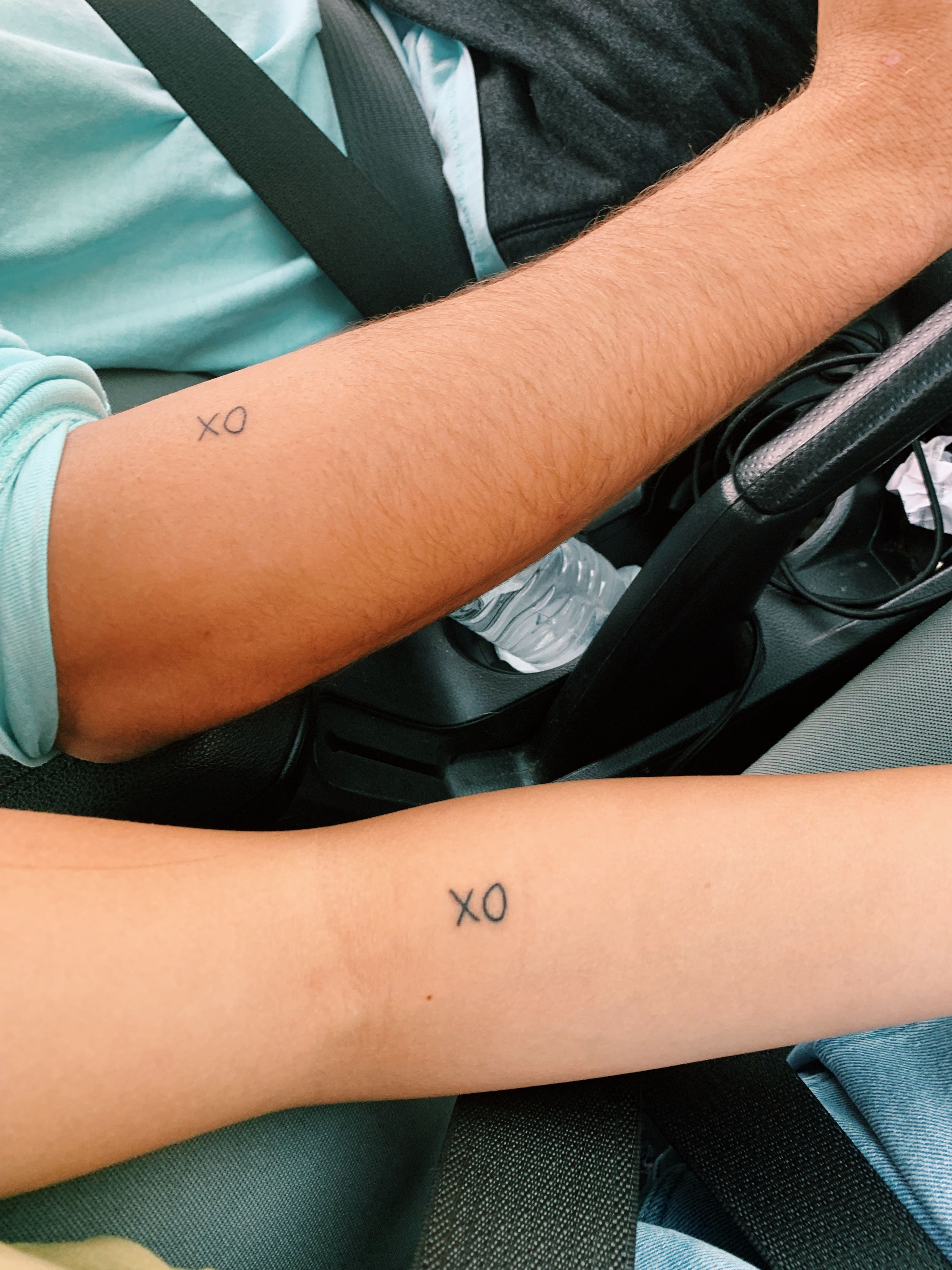 Coupletattoos Xoxo Xoxotattoo Matchingtattoos Matching Couple Tattoos Picture Tattoos Couple Tattoos