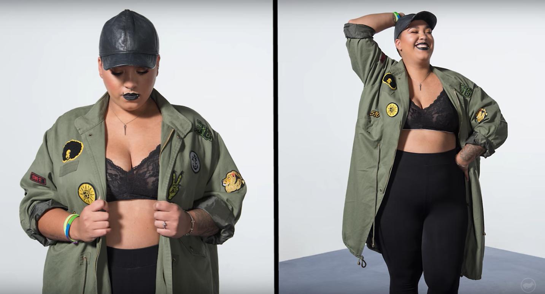 Watch Women Try On Zendaya's Size-Inclusive Clothing Line