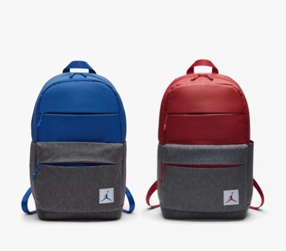 promo code 23c2d e1501 Nike AIR JORDAN PIVOT COLORBLOCK Backpack - Gym Red Royal Blue Cool Gray   fashion  clothing  shoes  accessories  unisexclothingshoesaccs   unisexaccessories ...