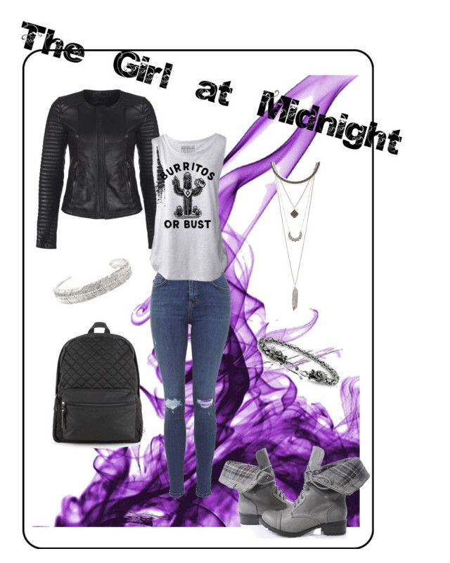 """An Echo look from """"The Girl at Midnight"""" by Melissa Grey by theendlessshelf on Polyvore"""