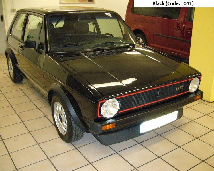 Golf Gti Mk1 Black Golf Gti Mk1 Gti Volkswagen Golf Mk1