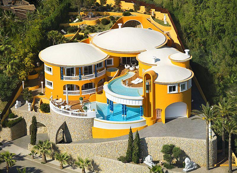 Villa Colani von Karl Heinz Richard Fürst von Sayn