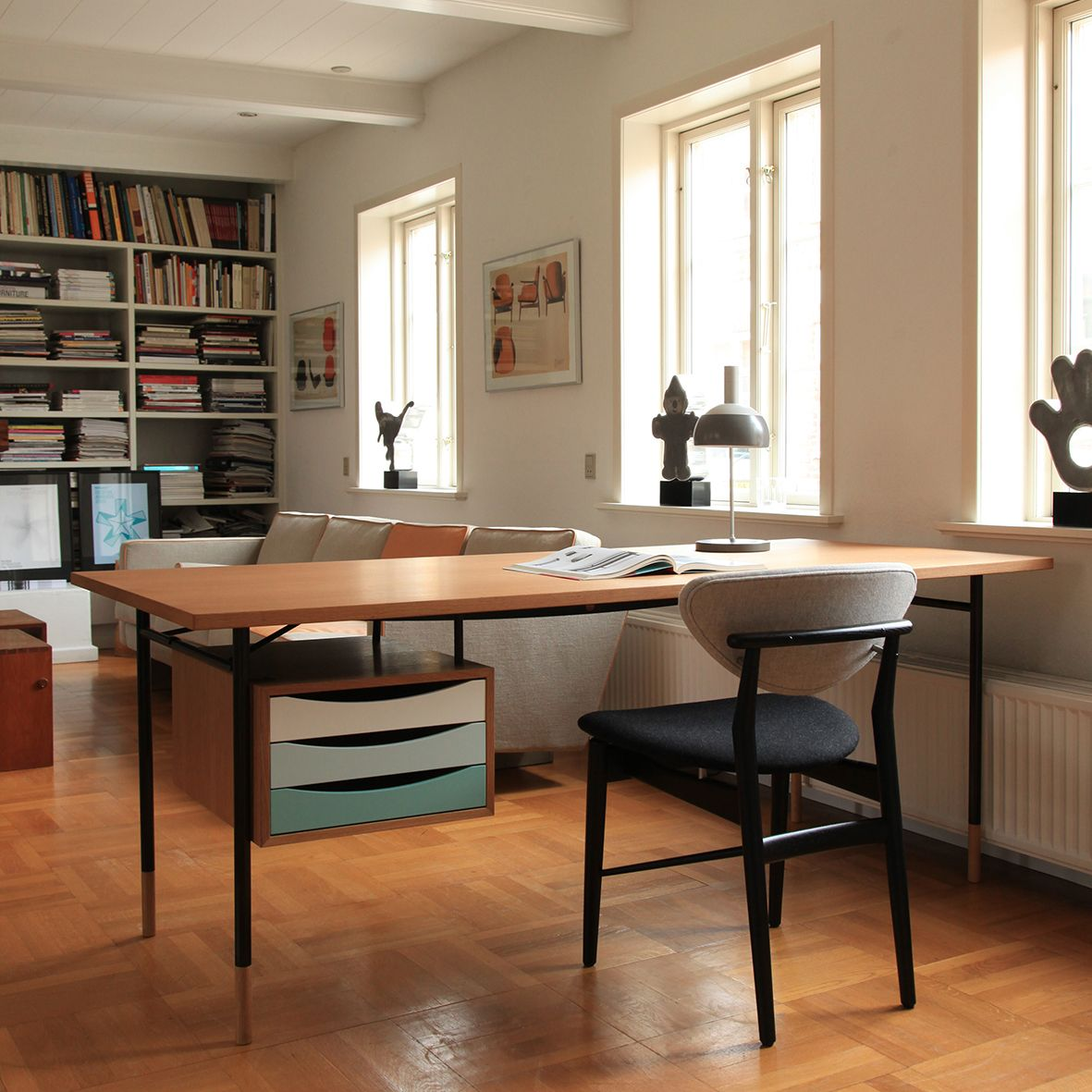 Nyhavn Table with Tray Unit and Model 108 Chair by Finn JuhlNyhavn Table with Tray Unit and Model 108 Chair by Finn Juhl  . Finn Juhl Chair 108. Home Design Ideas