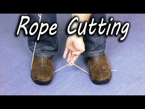 Une astuce incroyable pour couper une corde sans ciseaux! Un truc d'urgence, un truc de survie! - Trucs et Astuces - Trucs et Bricolages