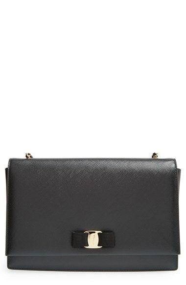 Salvatore Ferragamo  Large Ginny  Shoulder Bag available at  Nordstrom 9e785aa87b118