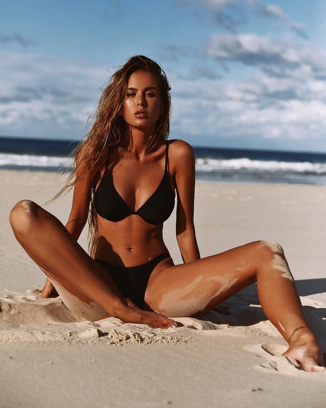 Beach Babe Bikini In Milk