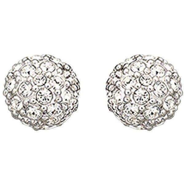 Swarovski Emma Crystal Stud Earrings 48 Liked On