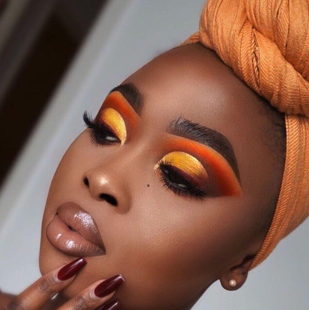 Makeup for black women Black girl makeup, Dark skin