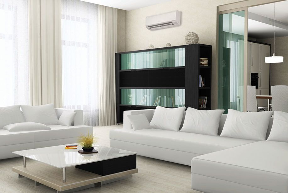 The Lifestyle Benefits Of Mitsubishi Electric Cooling Heating Ductless Cooling Ductless Living Room Theaters