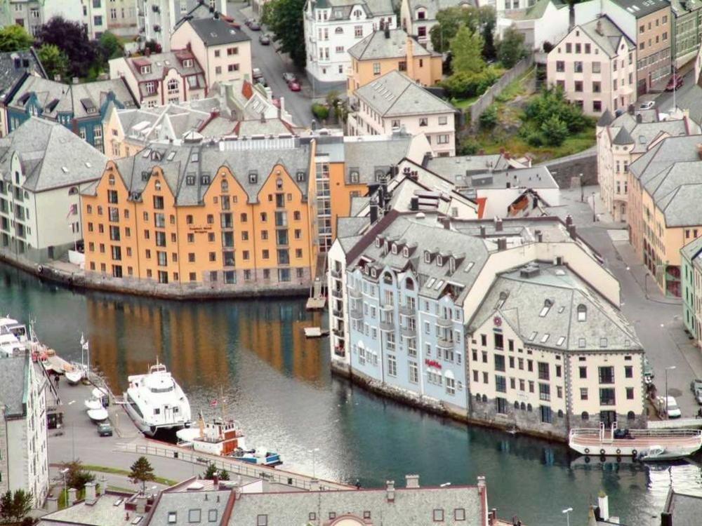 Alesund, municipio de More og Romsdal, Noruega.