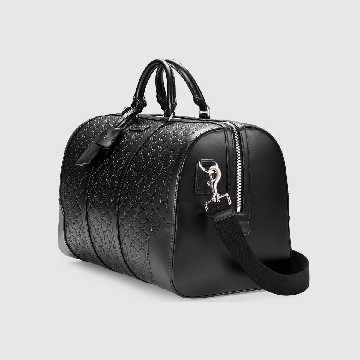 0dc02fedc8 Gucci Signature leather duffle in 2019   Accessories   Leather ...
