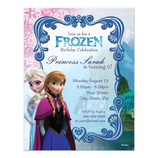 Frozen birthday invitation personalized businesses growing frozen birthday invitation personalized stopboris Gallery