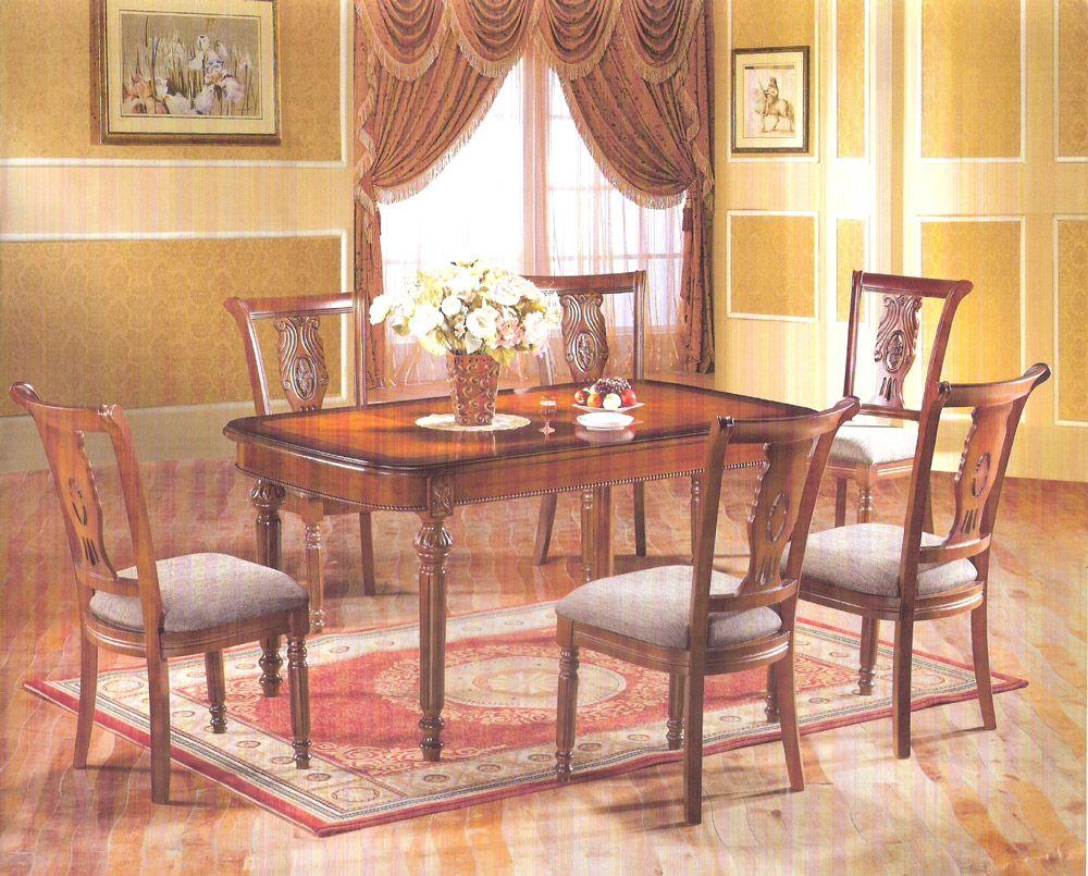 Salle à manger bois – salle à manger classique – Milmeuble | Espace ...
