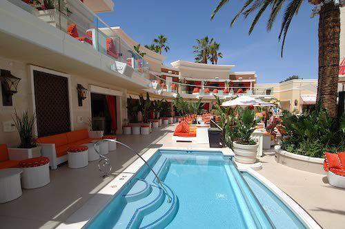 Cabana Hot Tub At Encore Beach Club Las Vegas