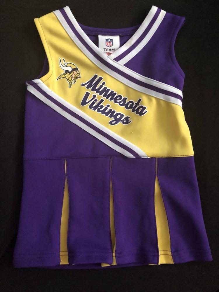Minnesota Vikings NFL Toddler Cheerleader Jumper  1113df6da