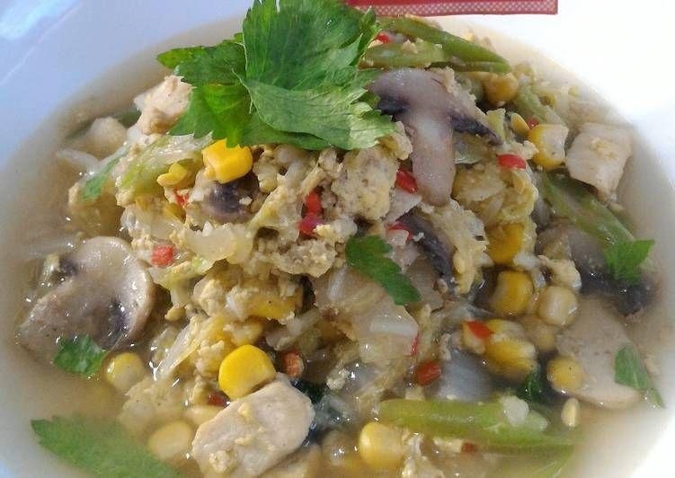 Resep Tumis Sayuran Berkuah Diet Enak Diabetes Oleh Nancy Firstiant S Kitchen Resep Sayuran Makan Siang Tumis