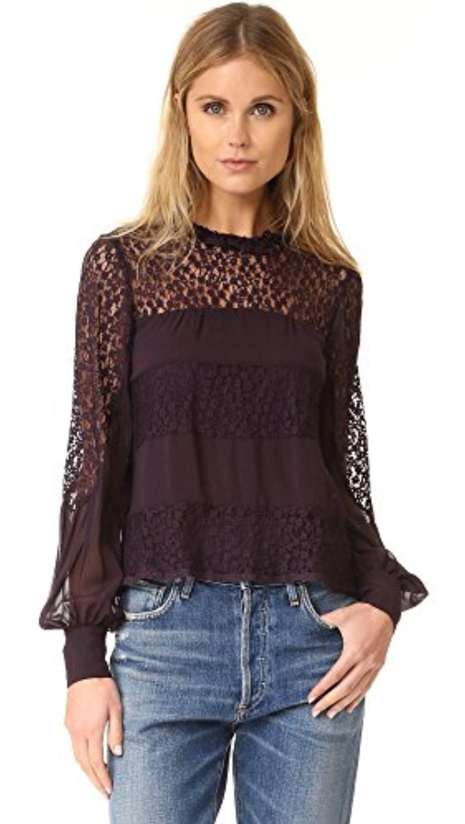 5a5ded4278427 Nanette Lepore Women s Jezebel Blouse - Brought to you by Avarsha ...