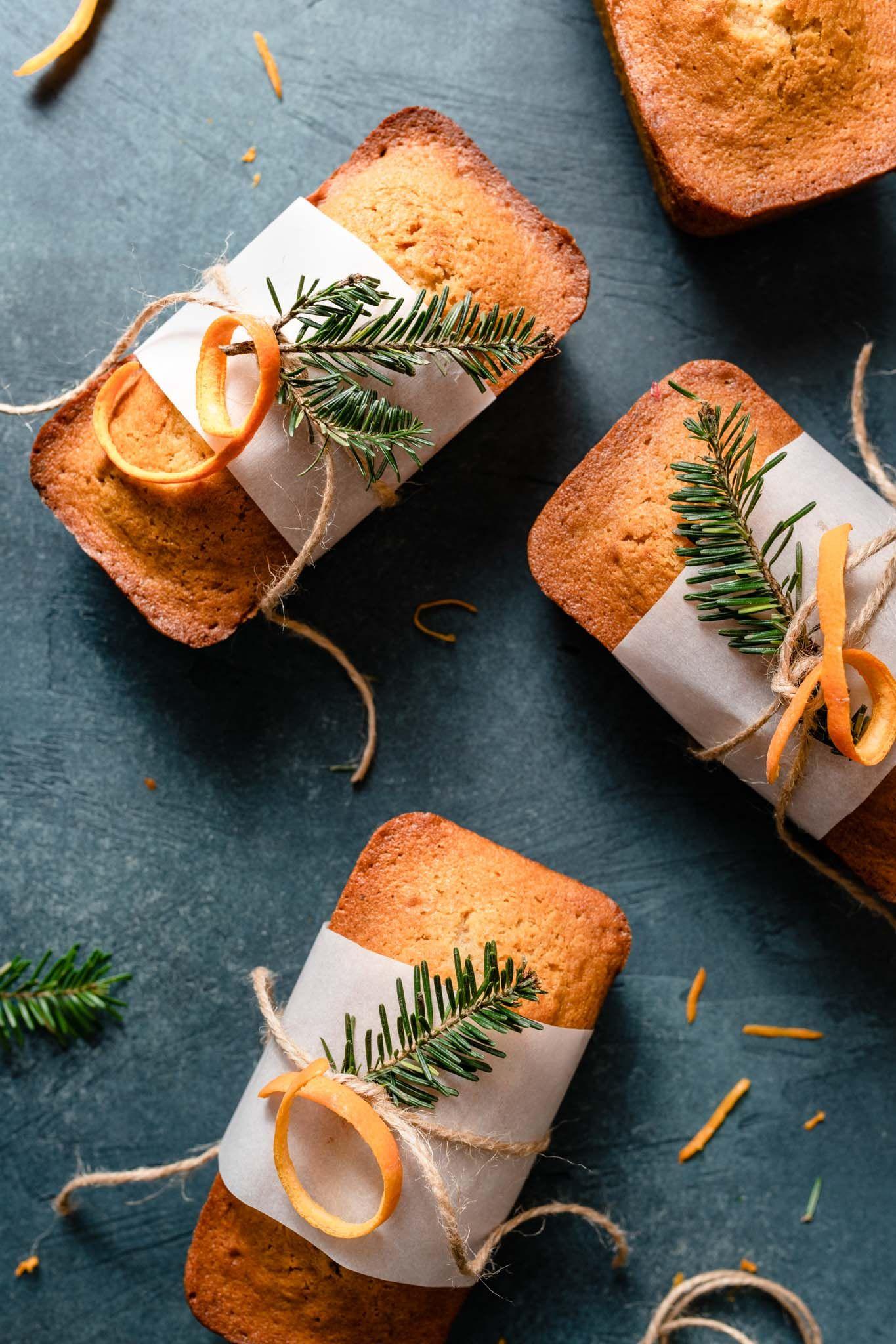 Orange Ginger Honey Cakes | Two Cups Flour