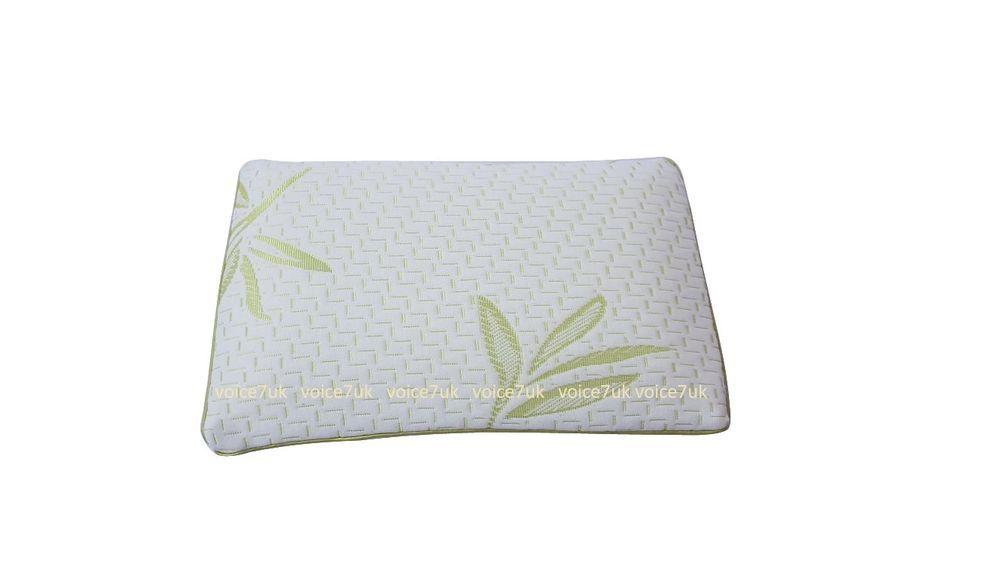 *NEW*Bamboo Memory Foam Cot Bed Pillow Baby Toddler Bedding Kids Junior Sleeping