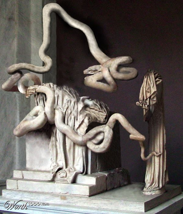 Laocoon and his sons essay typer
