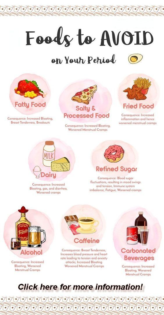 Foods to AVOID to stop bloating on Your Period To Prevent UNWANTED Menstrual Cramps  Women Health Tip