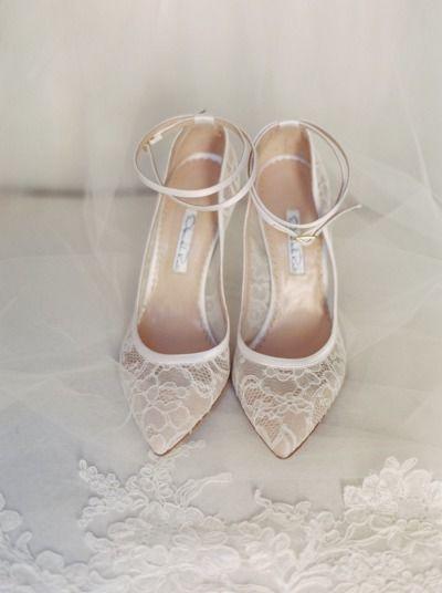 Vintage Wedding Shoes For Bride