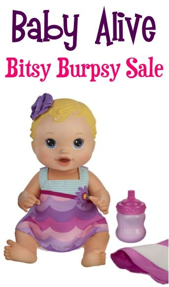 Baby Alive Bitsy Burpsy Baby Doll Sale 16 99 Baby Alive Baby Alive Dolls Baby Doll Accessories