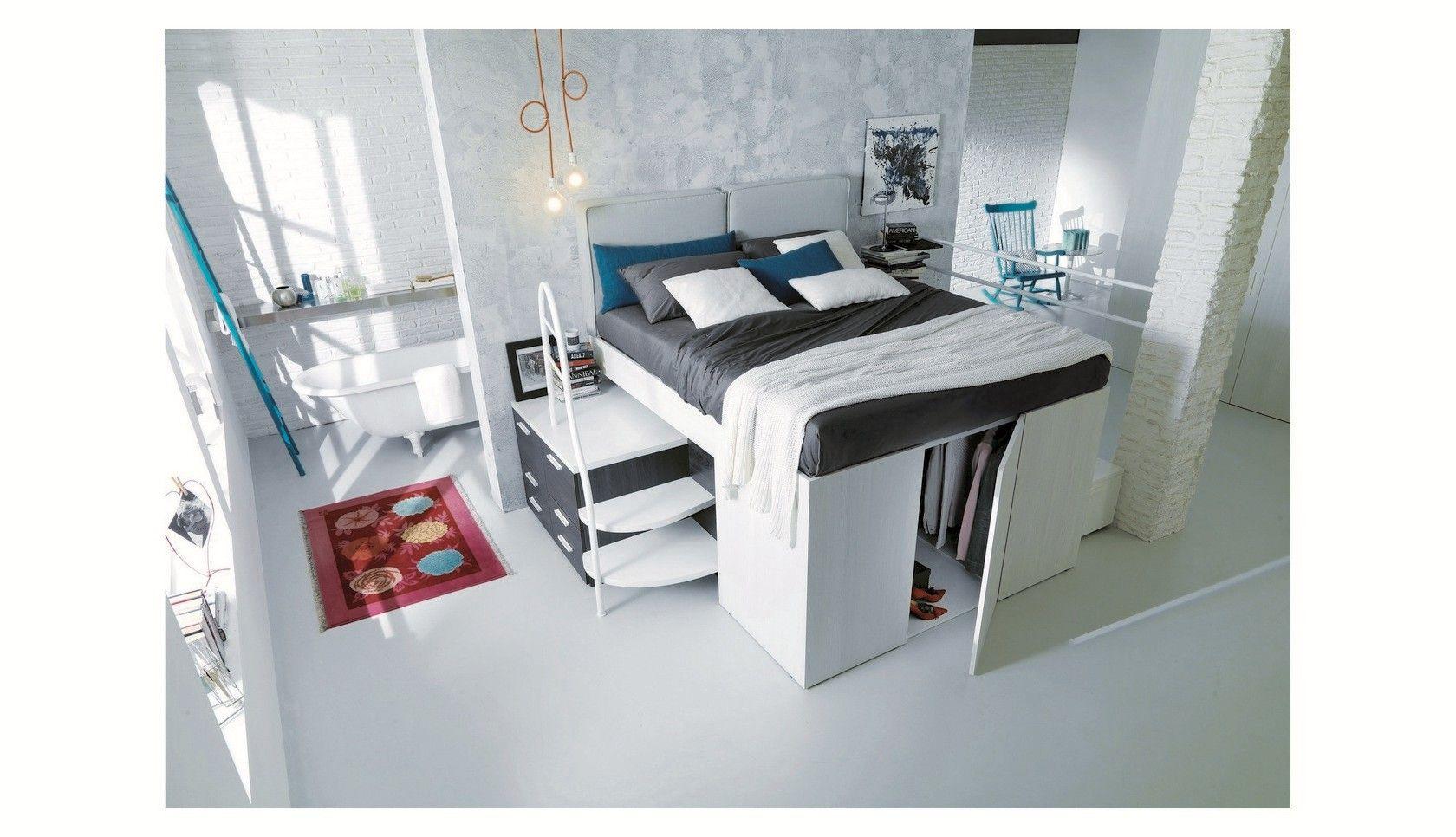 Progetto 14 Letto Container - Progetti camere Dielle