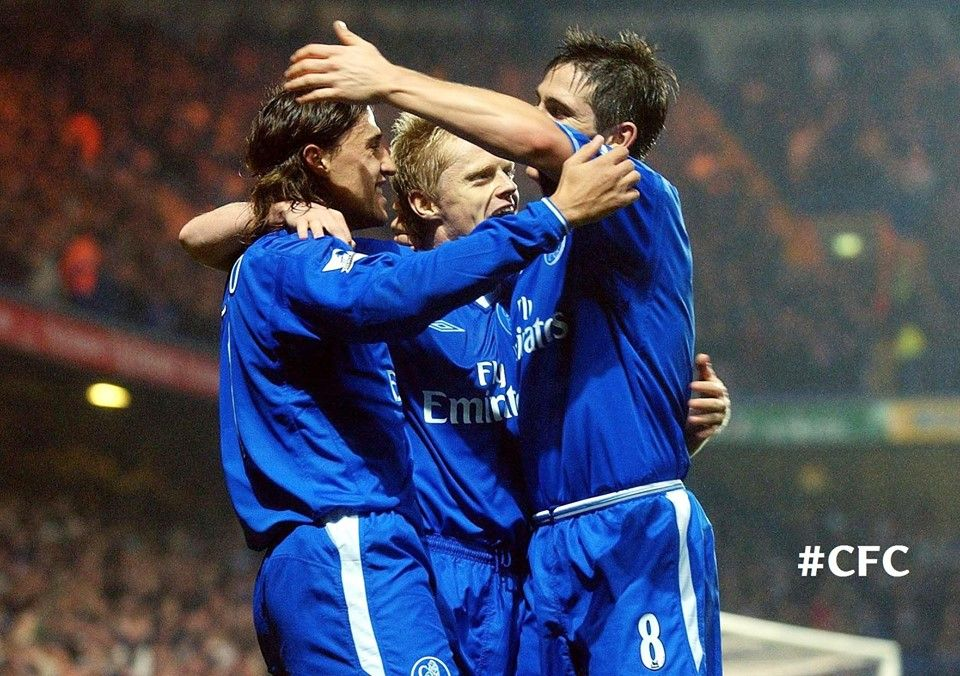 A blast from the past: Chelsea 5-0 Newcastle back in 2003.   Can you name ALL five of our scorers?  Johnson, Crespo, Lampard, Duff & Gudjohnsen