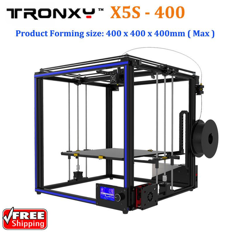 Tronxy X5S-400 High Precision Rapid Assembly 3D Printer 400