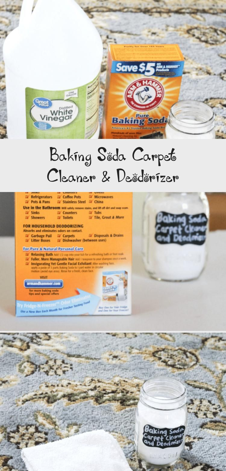 How To Clean And Deodorizer Your Carpet With Baking Soda Clean Naturally With Baking Soda At Home Wit In 2020 Baking Soda On Carpet Baking Soda Cleaning Baking Soda