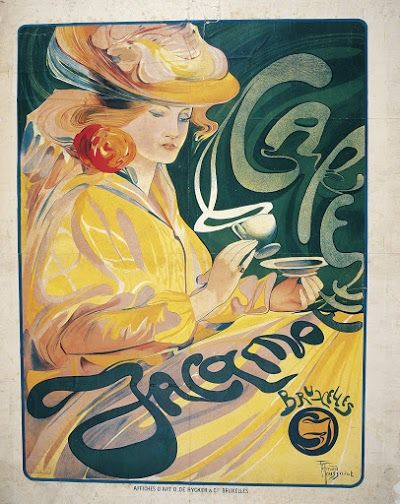 Café Jacqmotte (1897).JPG | Vintage Advertising | Pinterest