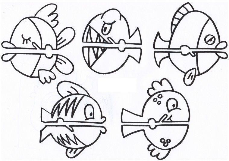 dibujos-de-peces-para-imprimir.jpg (760×537) | dibujos | Pinterest ...
