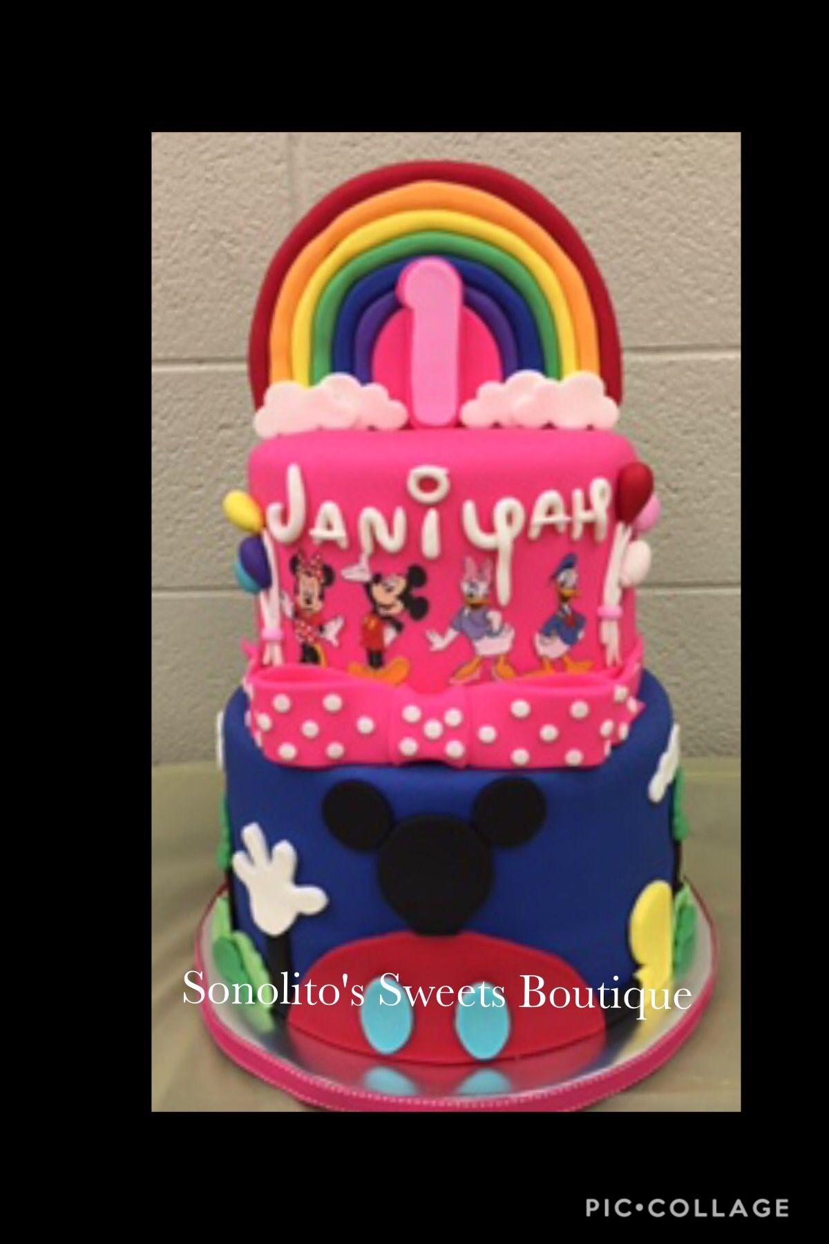 Minnie Mouse Cake My Cakes Pinterest Mouse Cake