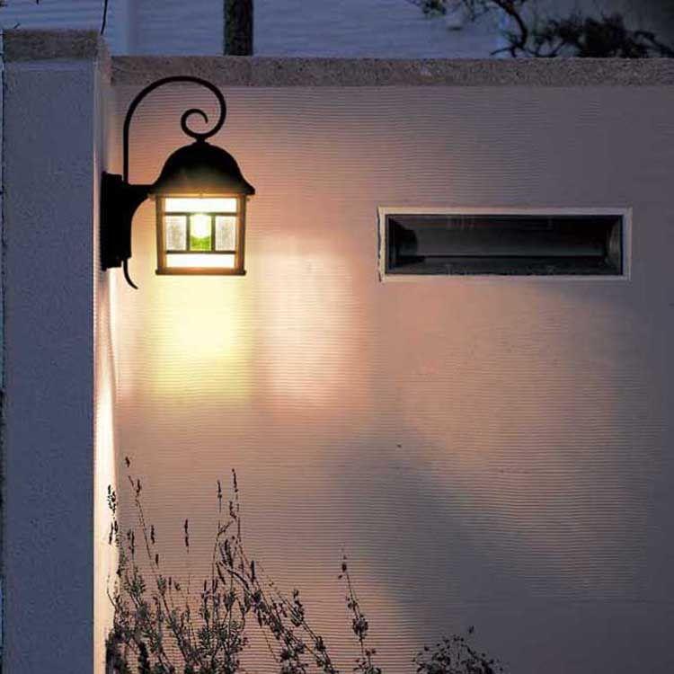 楽天市場 玄関照明 おしゃれ 外灯 ポーチライト Led ランプ 門灯